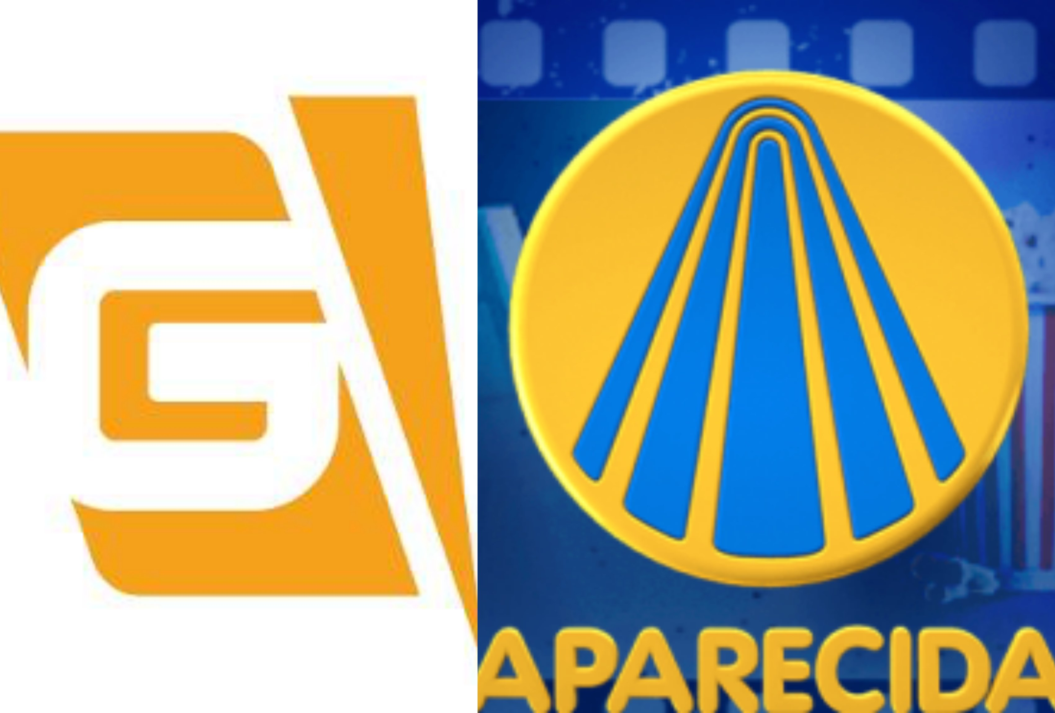 Logo TV Gazeta e TV Aparecida. Foto: Reprodução audiência audiências