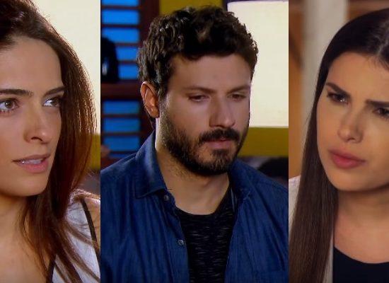 Débora consegue abalar a relação de Marcelo e Luisa em As Aventuras de Poliana