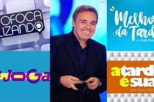 Programas de fofocas fazem homenagens ao apresentador Gugu Liberato. Foto: Reprodução