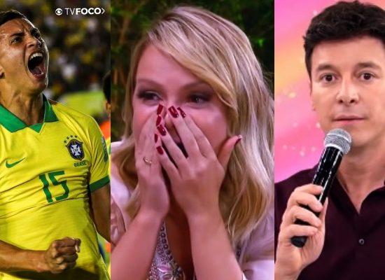 Audiência de domingo (17/11) do programa de Eliana, Rodrigo Faro e Seleção Sub 17