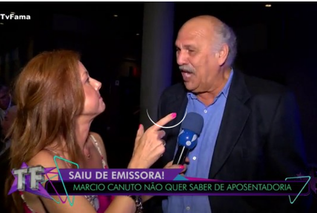 Márcio Canuto contou a verdade no TV Fama (Foto: Reprodução/ RedeTV!)