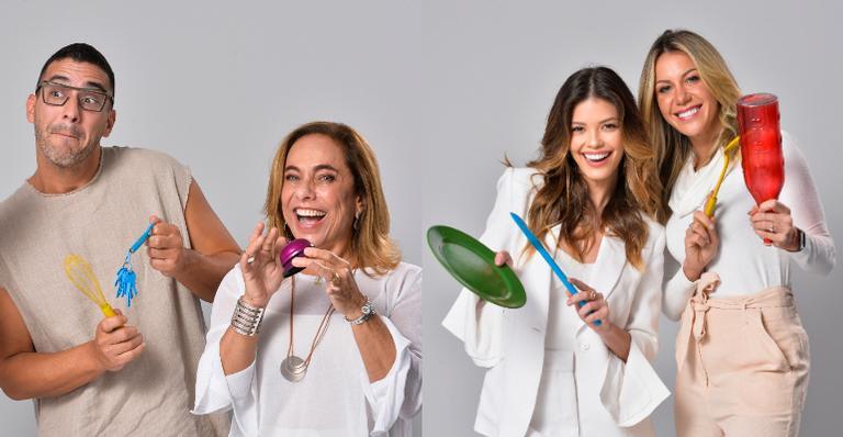 Barbara Coelho, Vitória Strada, Cissa Guimarães e André Marques revelam aprendizados que tiveram em 2019 e ambições para o próximo ano Globo/Fábio Rocha