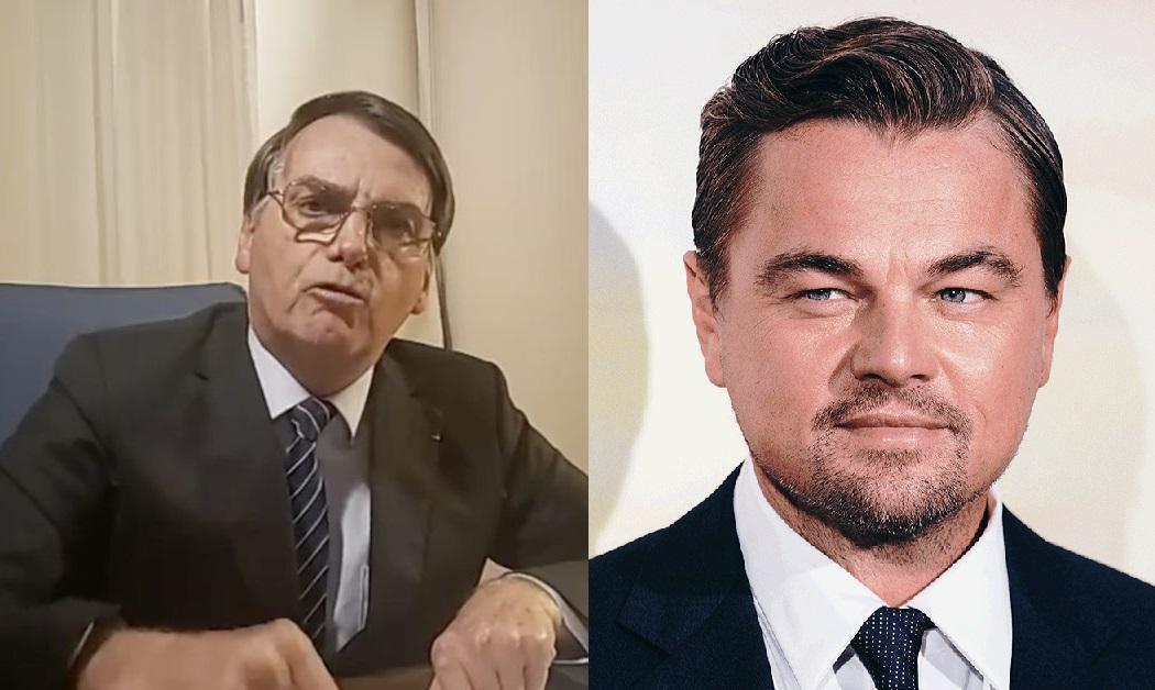 Leonardo DiCaprio foi acusado de financiar fogo da Amazônia por Bolsonaro (Foto: Reprodução)
