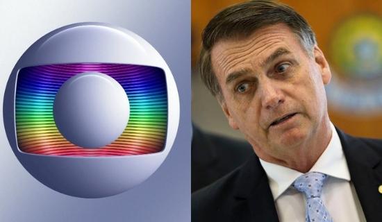 Globo prepara nova artilharia forte contra Bolsonaro (Foto: Montagem)