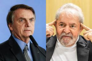 Volto de Lula atingiu diretamente o Governo de Jair Bolsonaro (Foto: Reprodução/ Montagem)