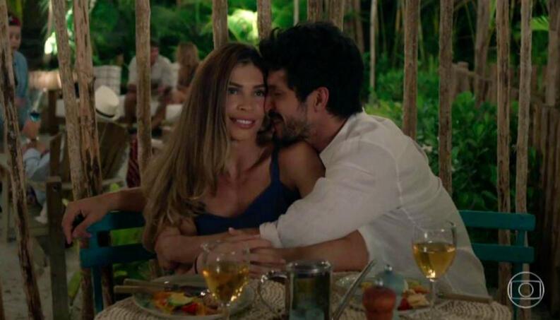 Marcos e Paloma passarão a namorar em Bom Sucesso