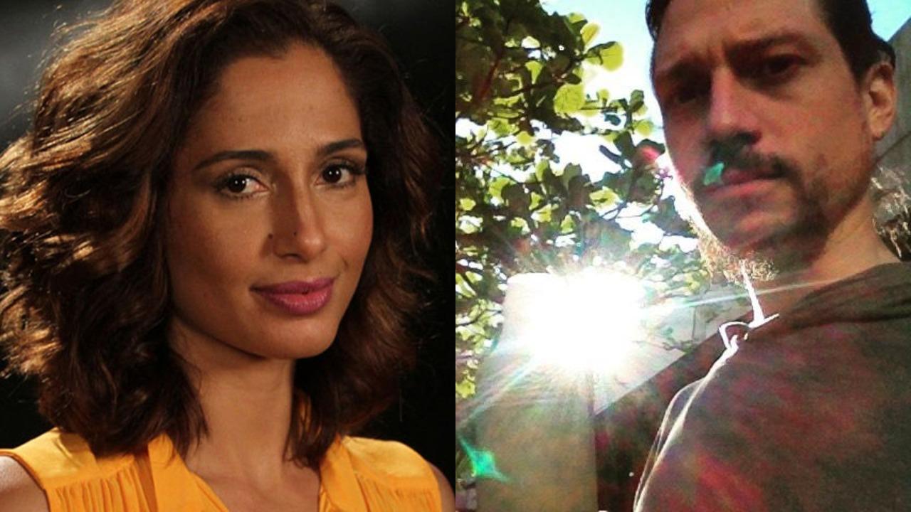 Camila Pitanga e seu ex, Rafael Rocha (Foto: Reprodução/Instagram/Montagem TV Foco)