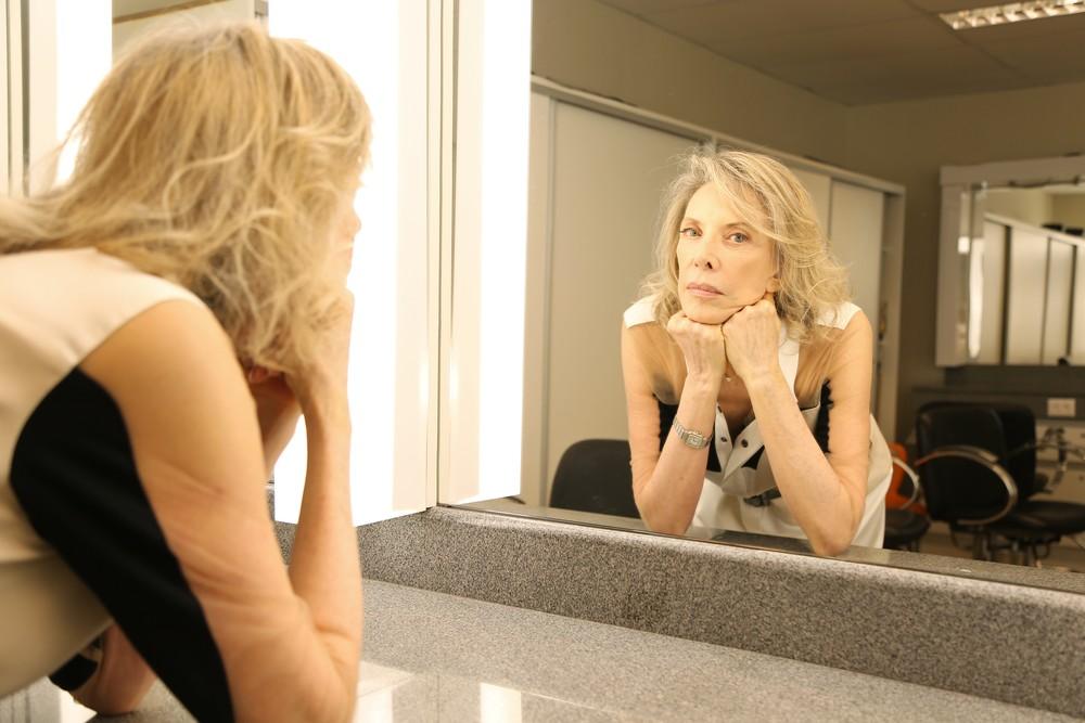 A apresentadora Marília Gabriela surpreendeu (Foto: Reprodução)