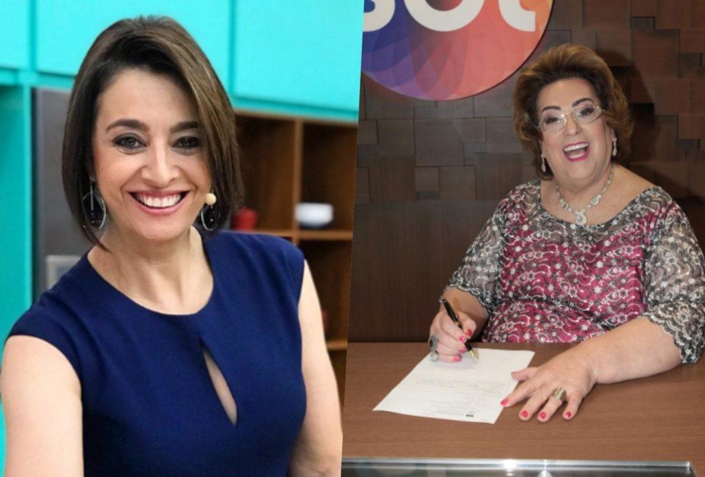 Catia Fonseca e Mamma Bruschetta estarão juntas novamente no Melhor da Tarde da Band (Foto montagem: TV Foco)