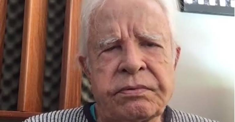 O jornalista Cid Moreira faz uma reflexão sobre a vida e também uma homenagem ao Gugu (Imagem: Instagram)