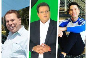 Silvio Santos, Geraldo Luís, Luiz Bacci