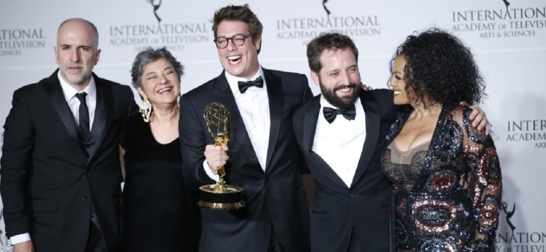 Comediantes do Porta dos Fundos recebe prêmio em Nova York (Foto: Reprodução)