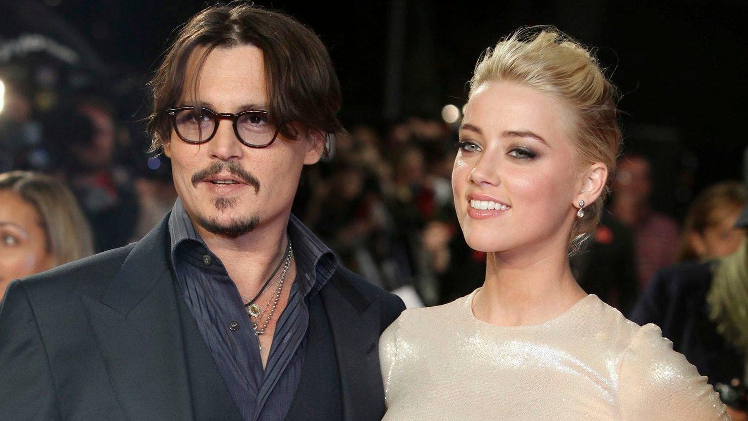 Johnny Depp e Amber Heard (Foto: Reprodução)
