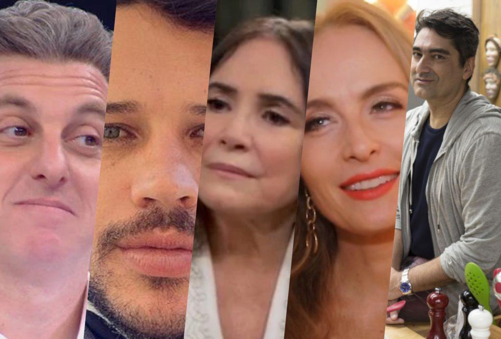 Luciano Huck, Angélica, José Loreto, Regina Duarte e tantos outros nomes estariam na lista de demissões da Globo