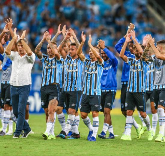 Grêmio vence o Palmeiras e garante vaga na libertadores de 2020 (Foto: Reprodução)