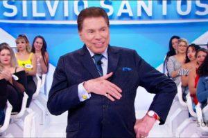 Alguns internautas insinuaram que Silvio Santos estivesse inchado (Foto: Reprodução)