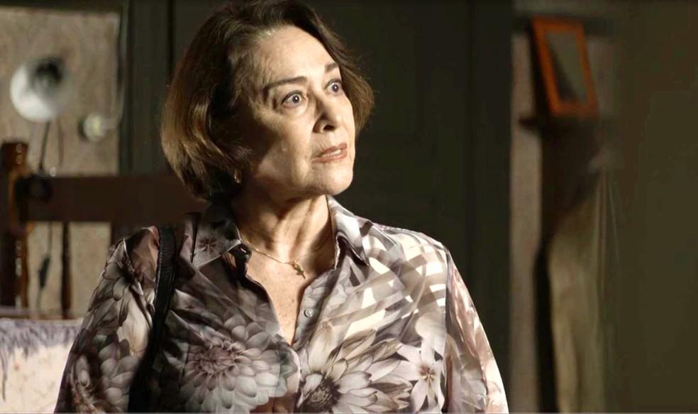 Evelina em cena da novela A Dona do Pedaço (Foto: Reprodução)