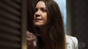 Fabiana e Agno em cena da novela A Dona do Pedaço (Foto: Reprodução)