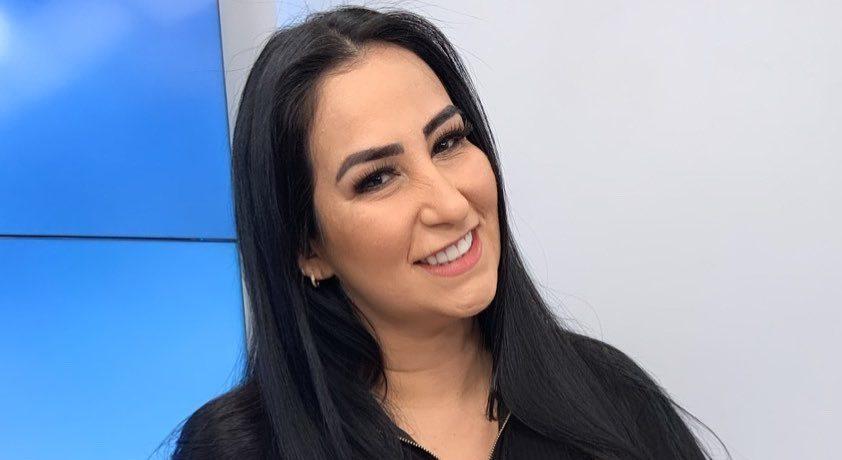 Fabíola Gadêlha assume posto de repórter do novo programa de Geraldo Luís (Reprodução/Instagram)