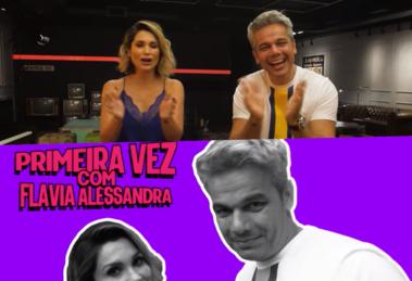 Flavia Alessandra deu uma entrevista reveladora na estreia do canal no YouTube de Otaviano Costa (Foto reprodução)