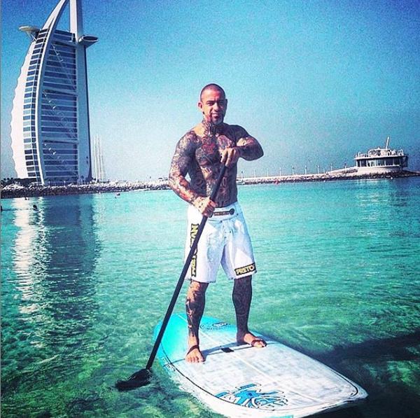Fogaça do Masterchef em Dubai (Foto: Reprodução)