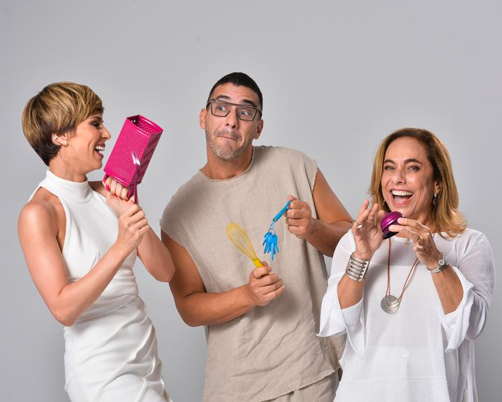 Mensagem de Fim de Ano TV Globo Hoje é um Novo Dia Vitoria Strada e Barbara Coelho