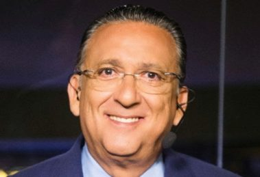 O narrador da Globo, Galvão Bueno (Foto: Reprodução)
