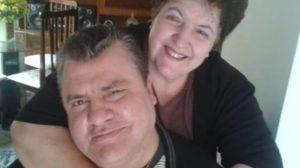 Gerson Brenner e a esposa (Foto: Reprodução)