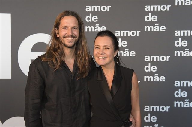 Vladimir Brichta e Adriana Esteves (Foto: Globo/Estevam Avellar)