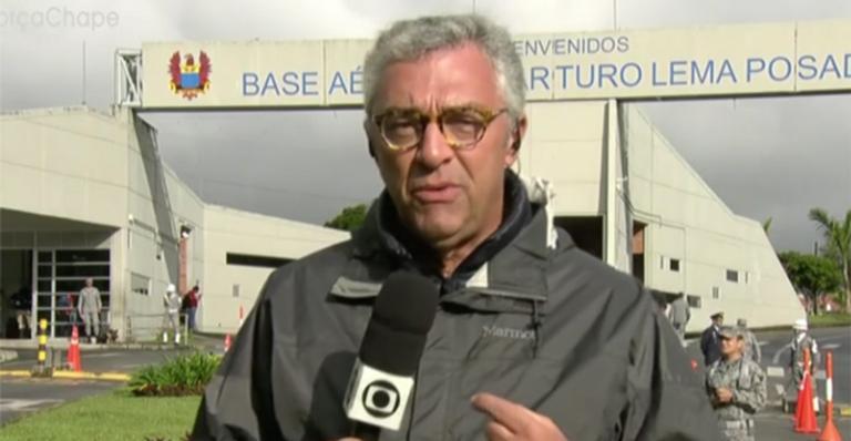 Ari Peixoto comentou uma gafe ao vivo na Globo