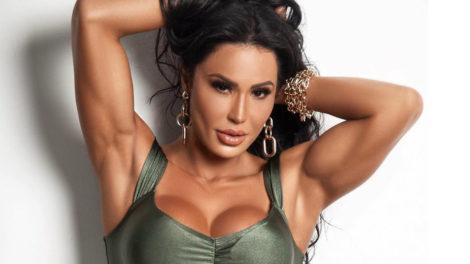 A famosa atriz da Multishow e mulher do cantor Belo, Gracyanne Barbosa deixou os seus seguidores de queixo caído (Foto: Reprodução: Instagram)