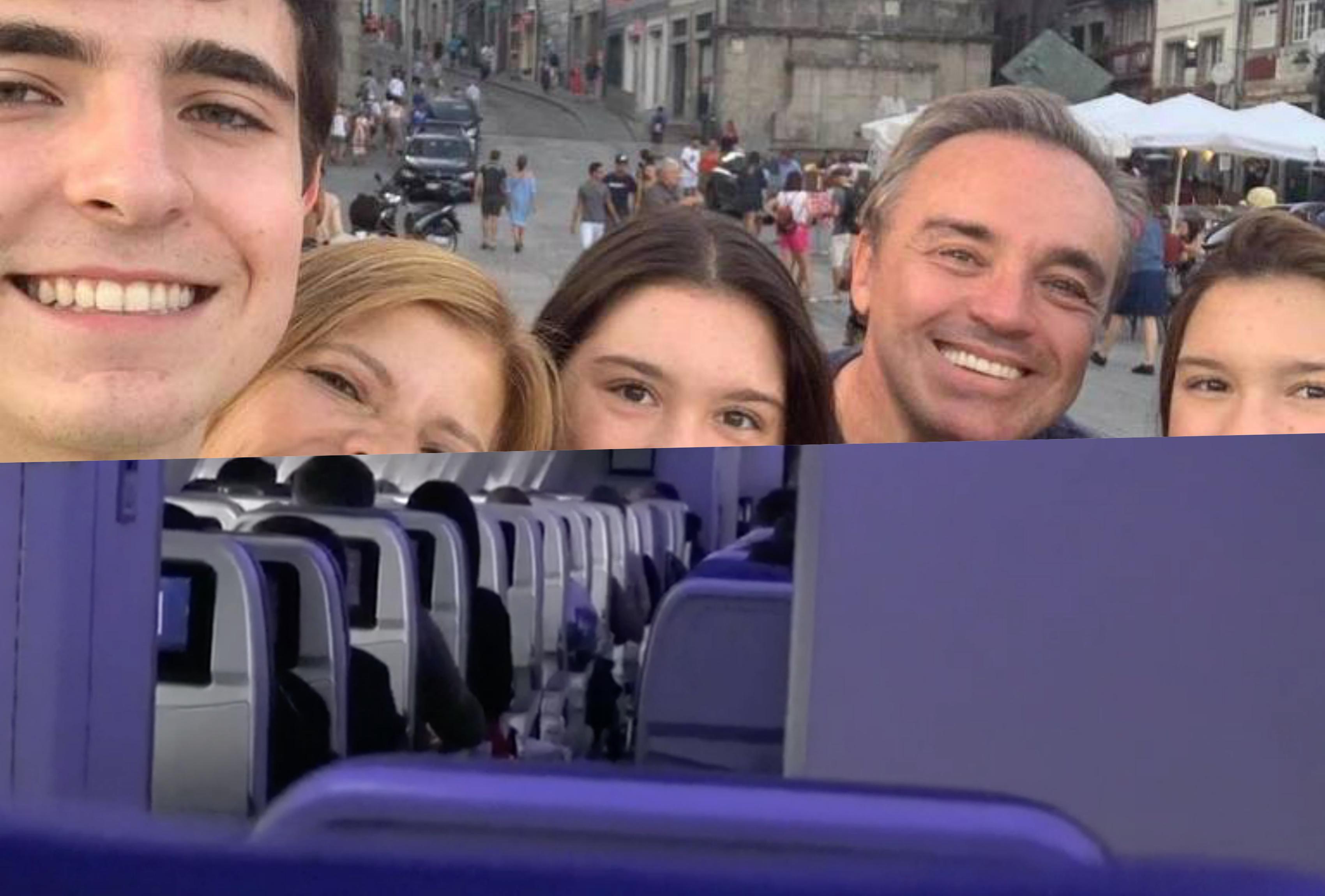 Família de Gugu veio em avião junto com o corpo do apresentador, público questiona herança (Foto montagem)