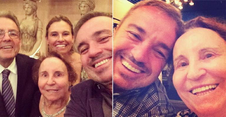Família de Gugu Liberato (Foto: Reprodução)