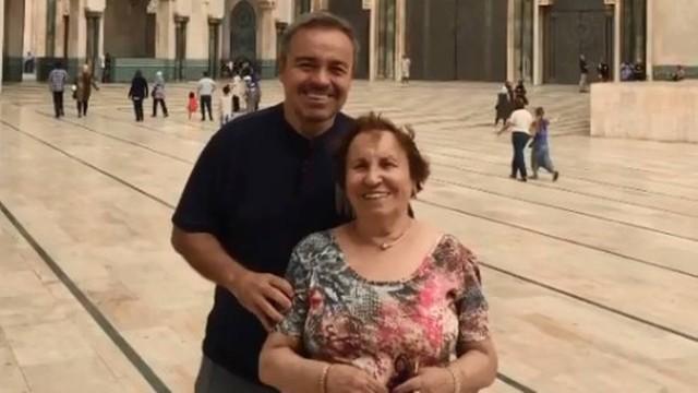 Resultado de imagem para Mãe de Gugu Liberato chega a Orlando após acidente do apresentador