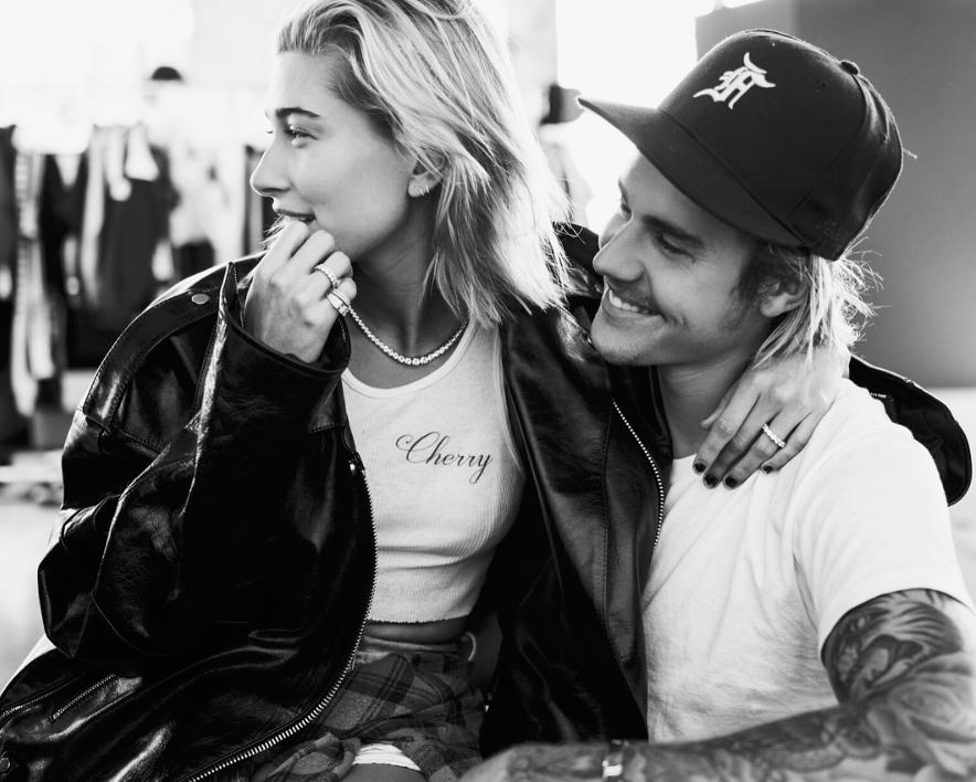 Justin Bieber e Hailey Baldwin (Foto: Reprodução)