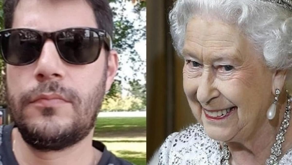 Evaristo Costa diz ser o novo contratado para trabalhar no palácio de Buckingham para à Rainha Elizabeth (Foto: Reprodução)
