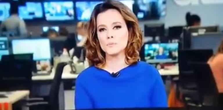 Jornalista da Globo News cometeu gafe ao vivo com Jair Bolsonaro e virou piada nas redes sociais (Foto: Divulgação)