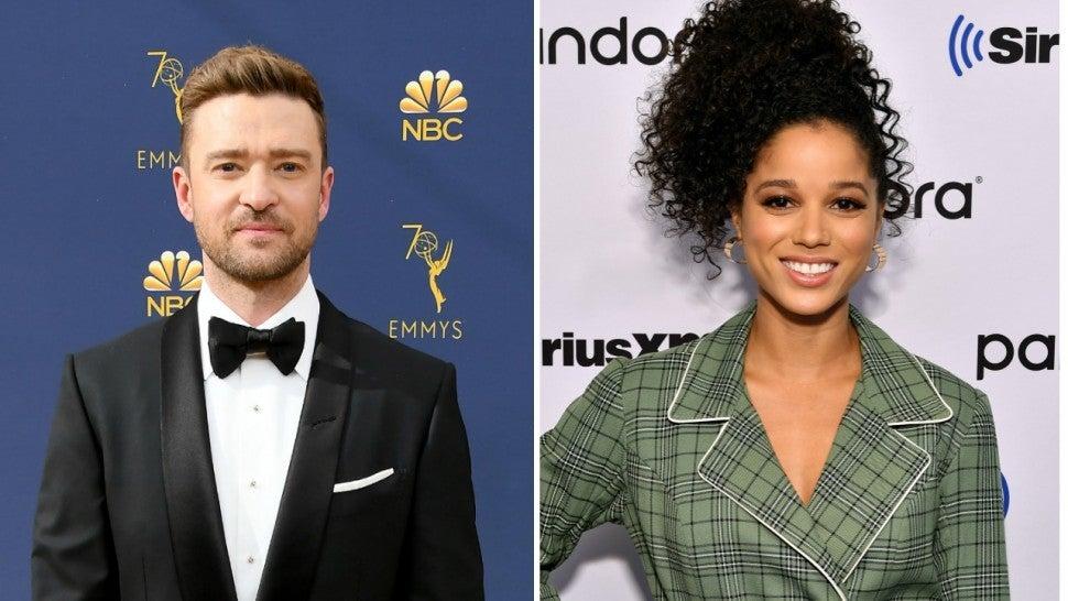 Justin Timberlake teria traído a esposa com Alishia Wainwright (Foto: Reprodução)