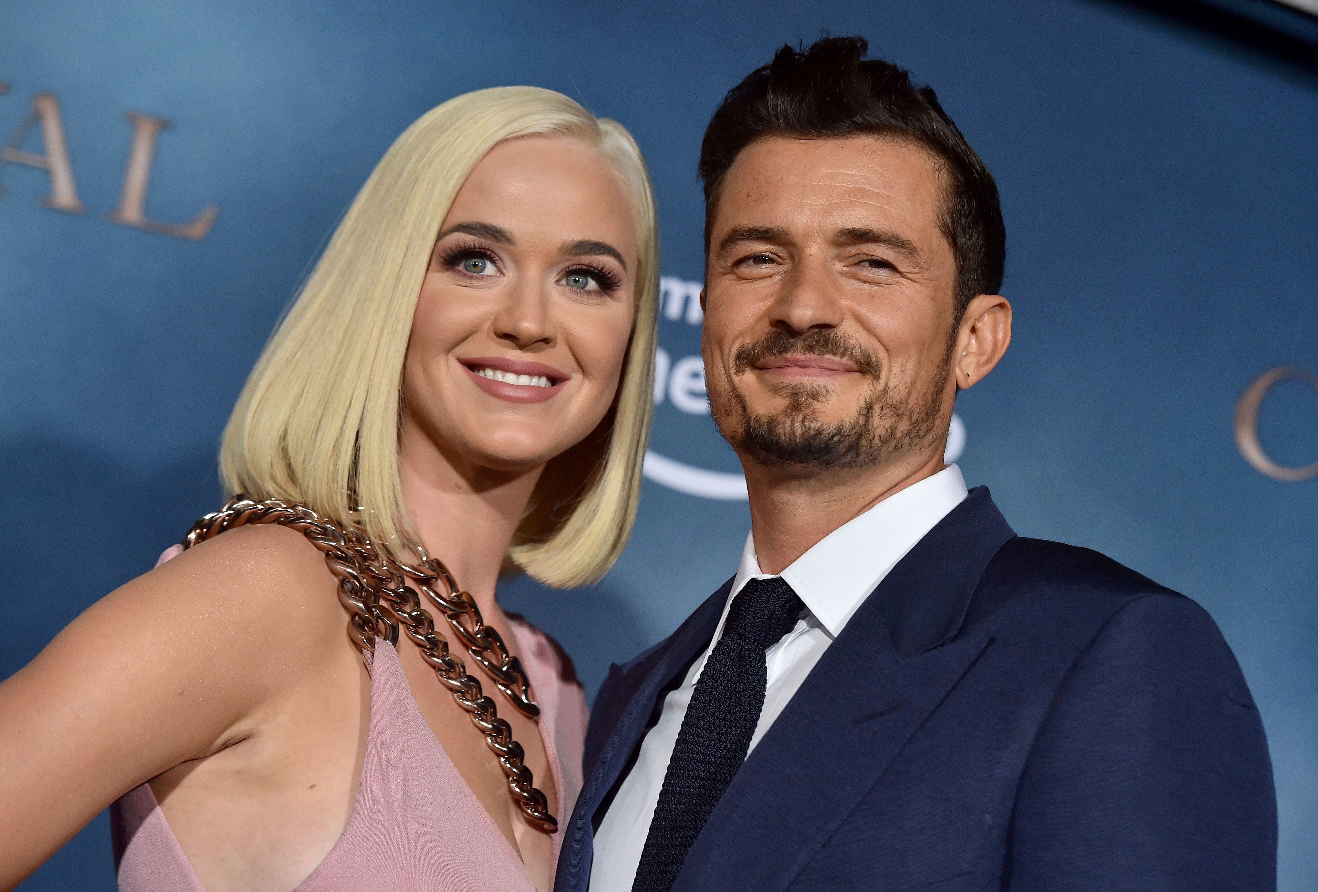Katy Perry e Orlando Bloom esperam primeira filha da relação (Foto: Reprodução)