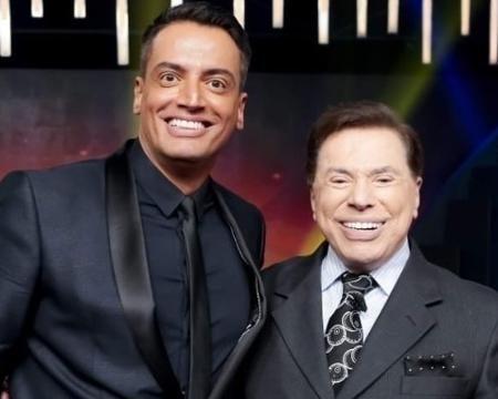 Leo Dias e Silvio Santos Imagem: Reprodução/Instagram