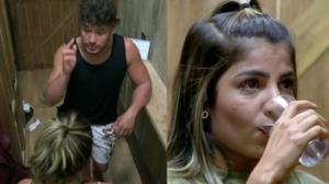 Lucas e Hariany voltaram a se tornar um dos assuntos mais comentados nas redes sociais após protagonizarem barraco dentro do reality show da Record, A Fazenda (Foto: Reprodução)