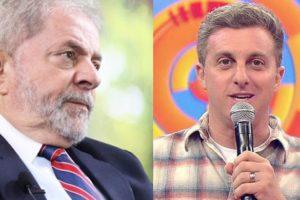 Luciano Huck e Lula voltaram a ter seus nomes associados (Foto: Reprodução/ Montagem)