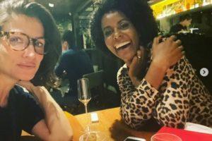 Maju Coutinho e Renata Vasconcellos