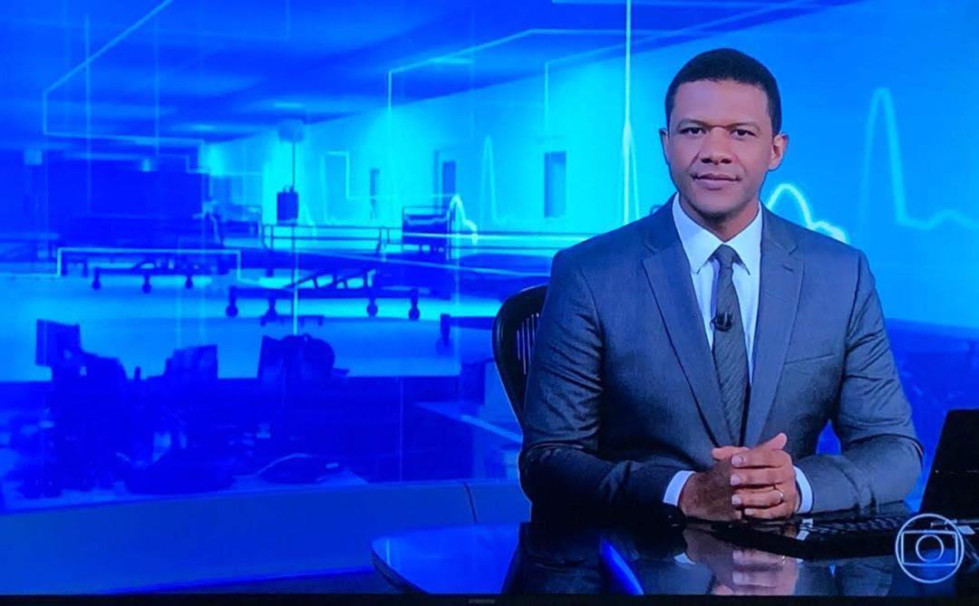 tadeu schmidt fantástico Márcio Bonfim se destacou e ganhou promoção na Globo (Reprodução)
