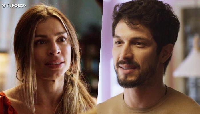Paloma é pressionada por Marcos e fica num impasse na trama de Bom Sucesso