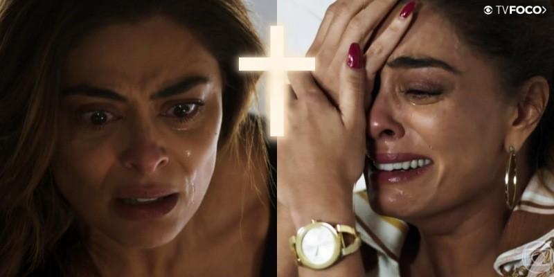 Maria da Paz faz pacto em A Dona do Pedaço com Deus