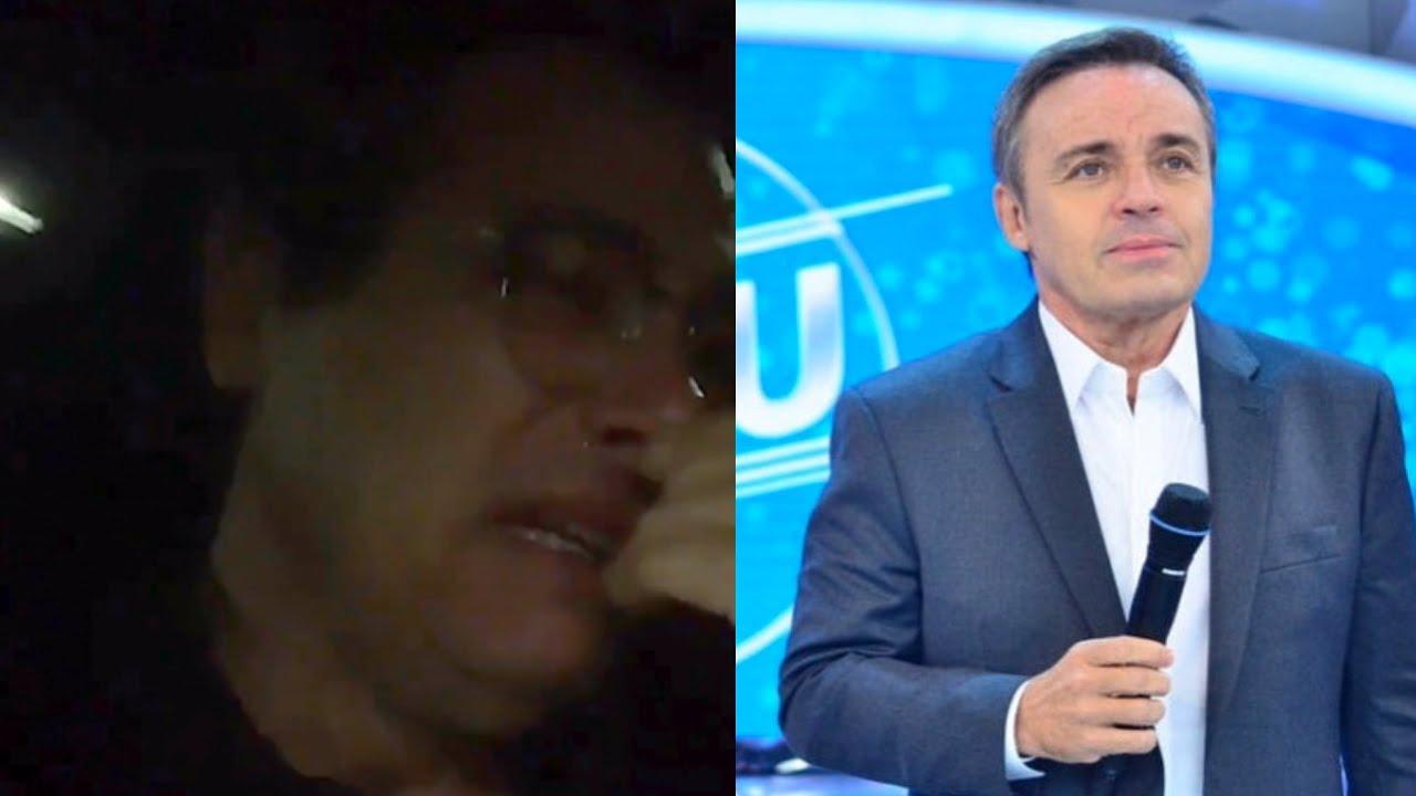 Celso Portiolli se emocionou ao falar de Gugu Liberato