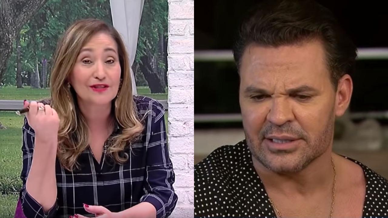Sonia Abrão e Eduardo Costa (Foto: Reprodução/RedeTV!/Montagem TV Foco)