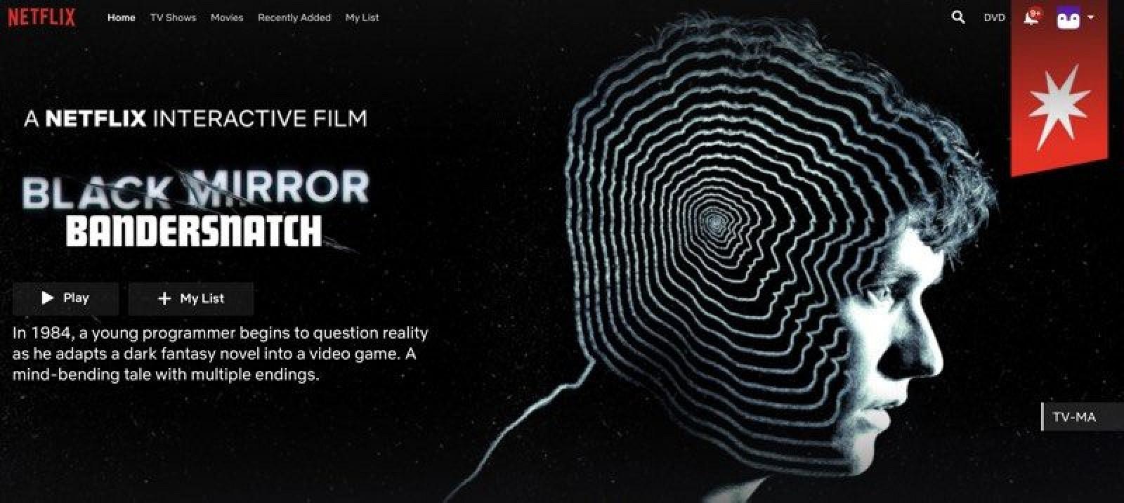 Black Mirror: Bandersnatch da Netflix inova com interatividade (Reprodução: Internet)