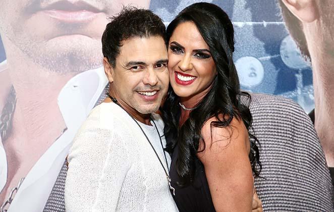 O cantor Zezé di Camargo e a parceira Graciele Lacerda (Foto: Reprodução)